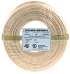 Cable 22/4 SOL 500' Beige Coil Pack