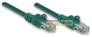 Patch Cord CAT 5e W/Boot 3' Green