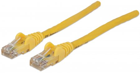 Patch Cord CAT 6 W/Boot 1.5' Yellow