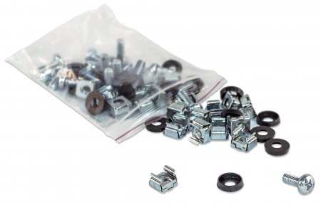 CAGE NUTS AND SCREWS 10/32 50 PACK
