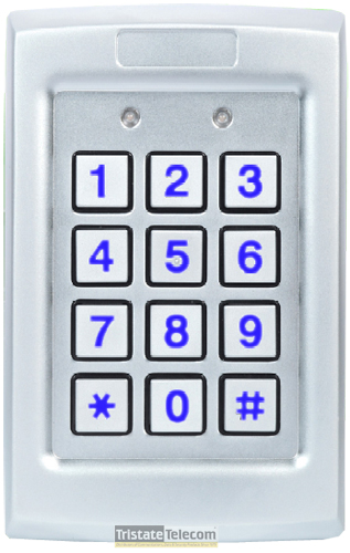 Keypad Outdr Metal Backlit
