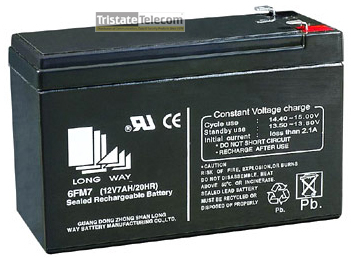 Battery 12V-7.0Ah Lead Acid