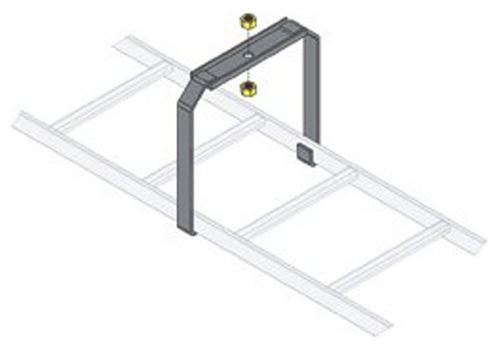 Ladder Rack Center Support Bracket