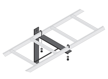 Ladder Rack WALL SUPPORT W/Hardware