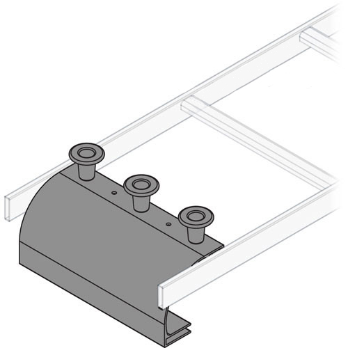 Ladder Rack End Drop 3 Units