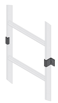 Ladder Rack WALL CLAMP