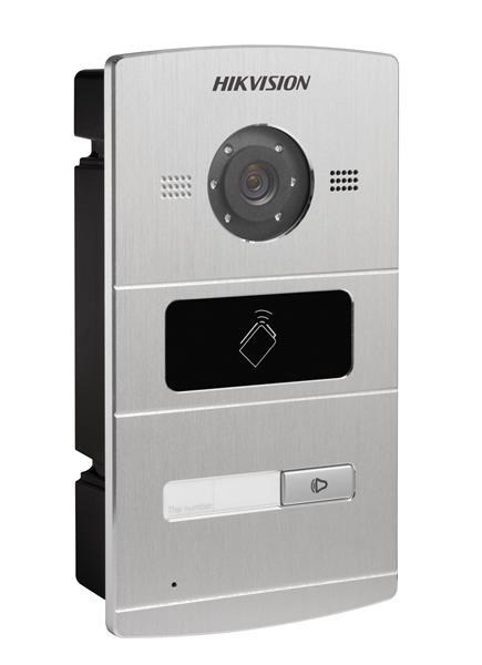 Video Intercom Door Panel 1 Button Metal
