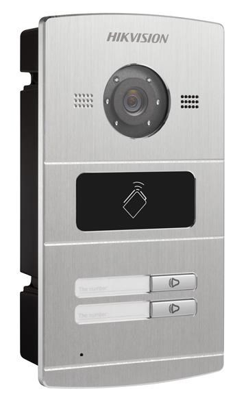 Video Intercom Door Panel 2 Button Metal
