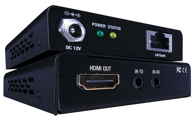 Balun HDMI Over Cat 5/6 165FT PoE