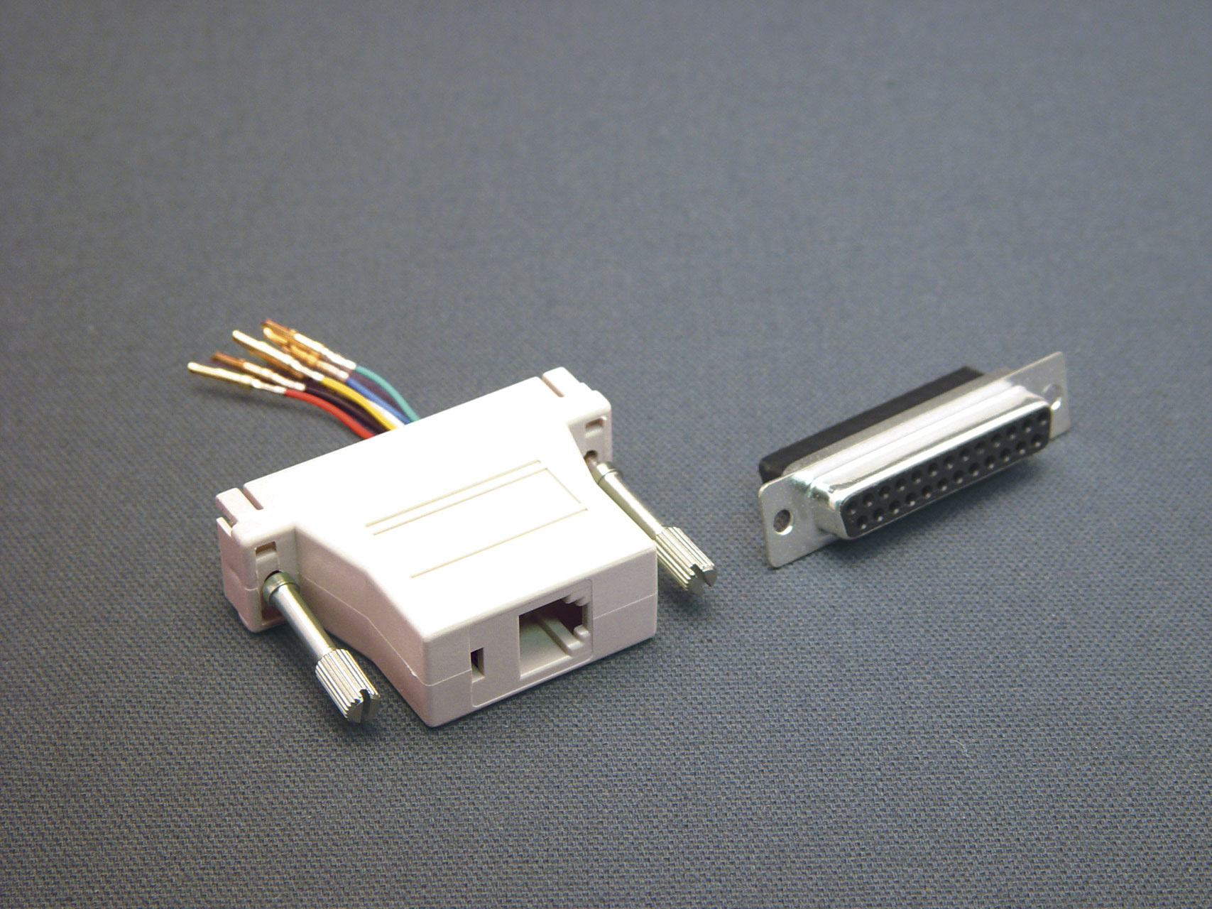 25 Pin Female TO 8P8C Adapter