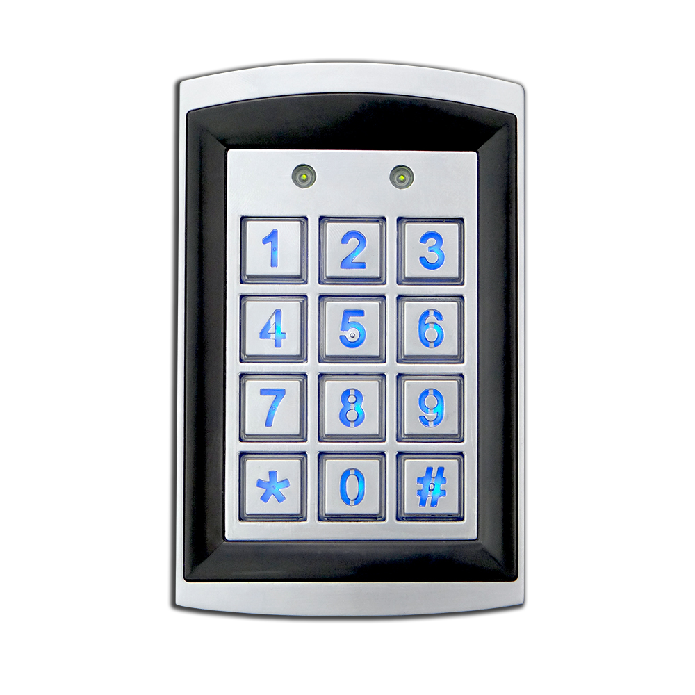 Keypad Outdoor W/Proximity Single Gang