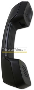 Handset Black Hearing Aid