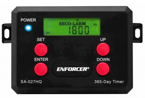 365 DAY ANNUAL TIMER WITH 2 RELAY OUTPUT