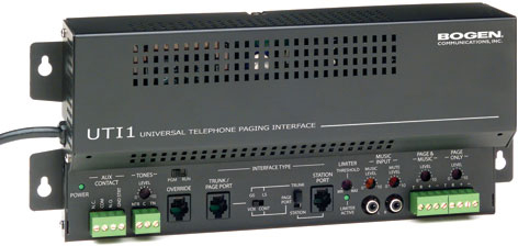Paging Telephone Interface 1