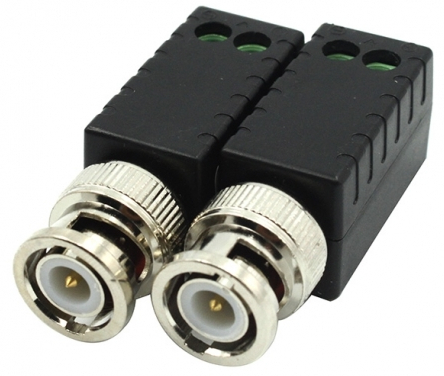 Balun Video Straight 1-Pair HD/Tribrid