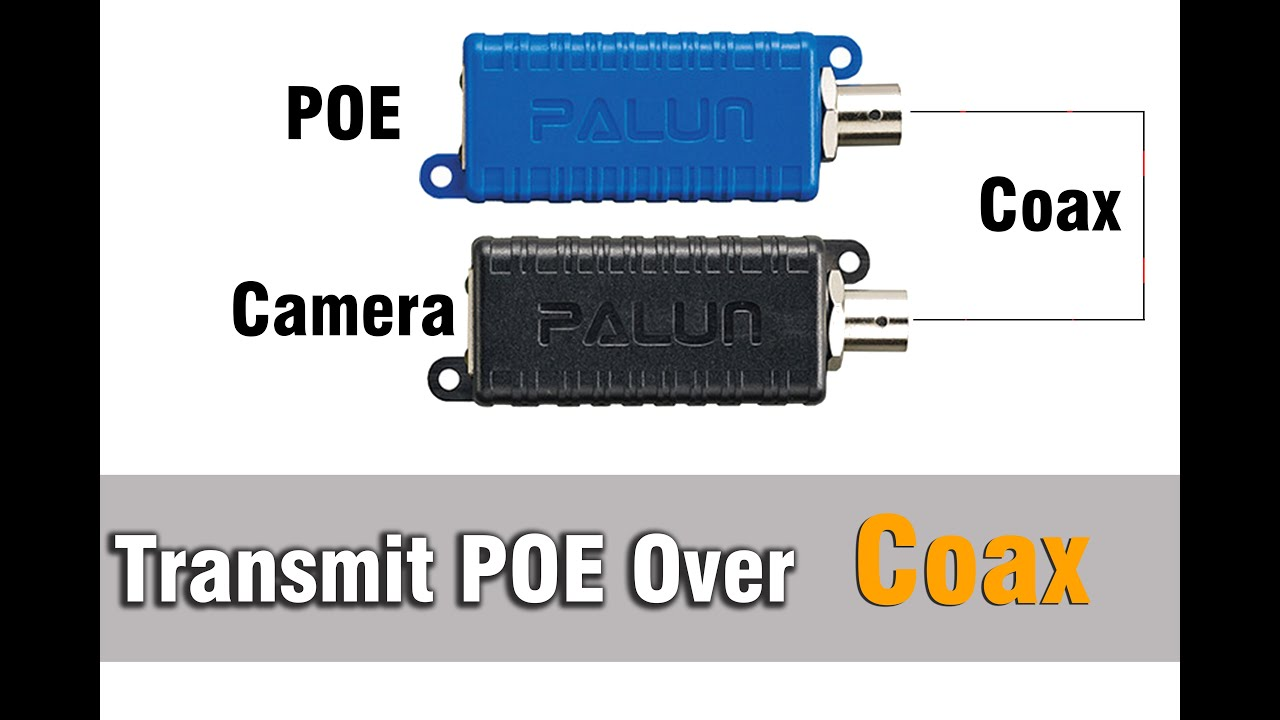 Ethernet Over Coax With PoE